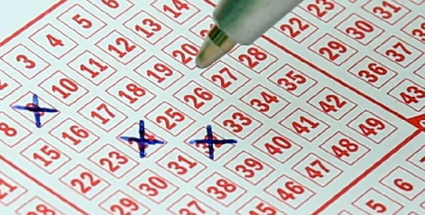 Kryssa i en lottorad